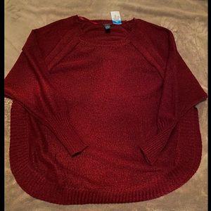 Rue21 Plus Curved Hem Sweater